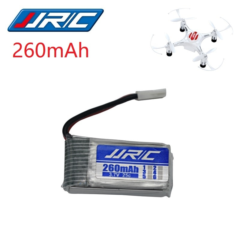 JJRC H8 Оригинальная батарея 3,7 V 260mAh Lipo батарея для H8 JJRC H8 Mini RC Quadcopter drone часть оптовая продажа JJRC батарея