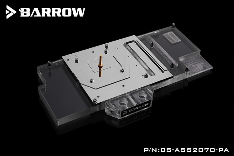 Barrow BS-ASS2070-PA Water Cooling Block for ASUS Rog Strix RTX 2070