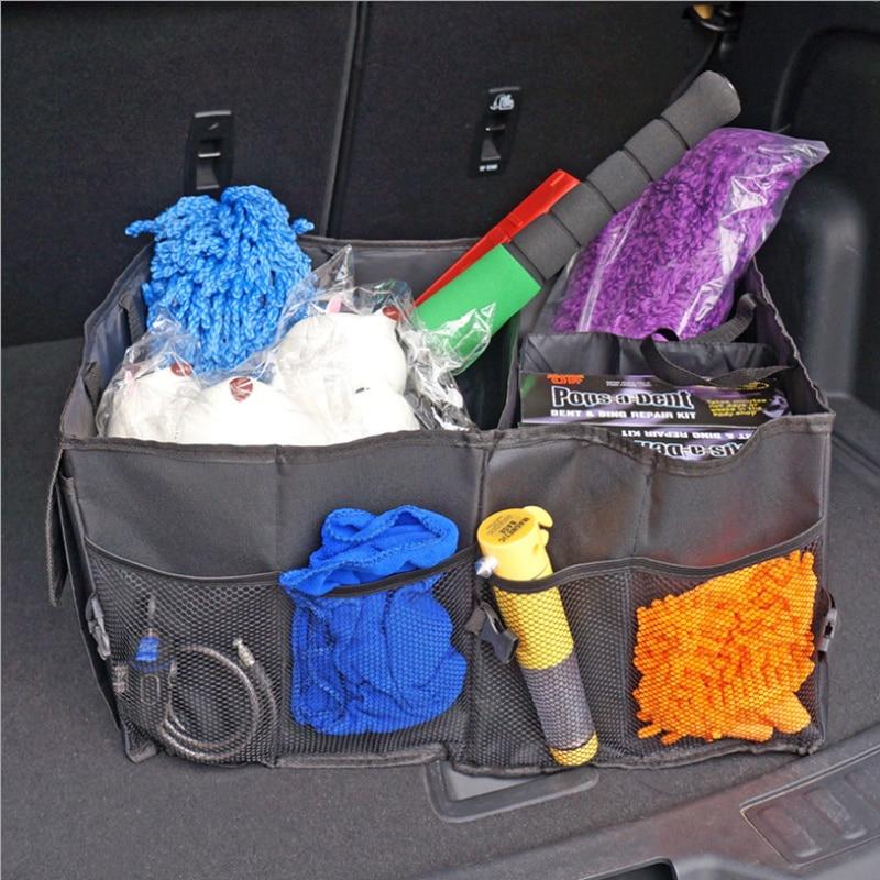 Bolsa de almacenamiento plegable para maletero de coche para Hyundai Solaris Accent Elantra Sonata I40 I10 i20 I30 i35 IX20 IX25 IX35 Tucson Santa Fe Getz