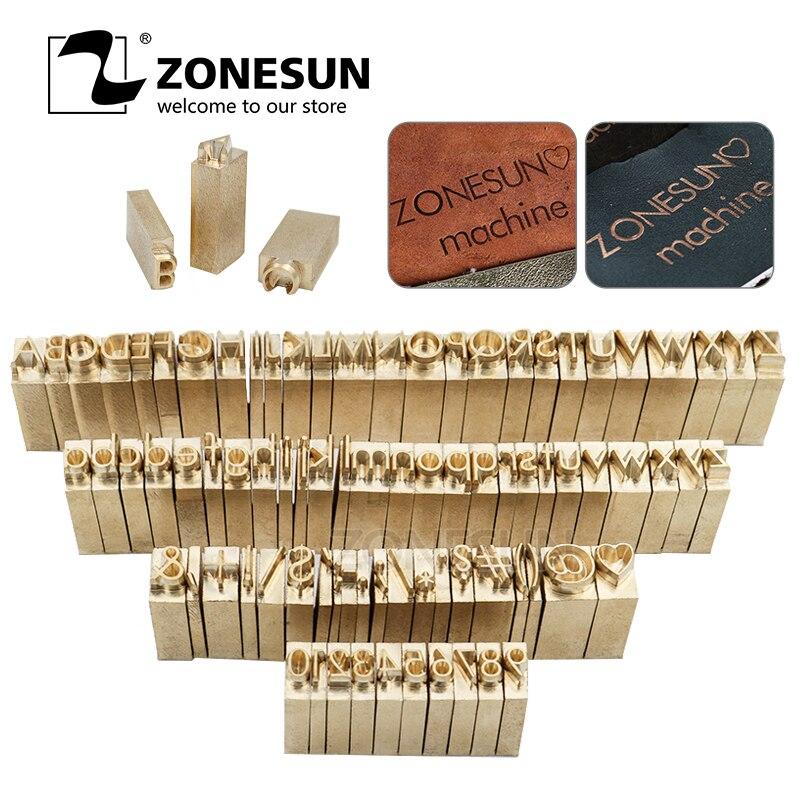 ZONESUN latón Metal molde de madera Sello de cuero de diseño de logotipo personalizado Branding placas de plástico molde para tortas, panes de calefacción estampado herramienta
