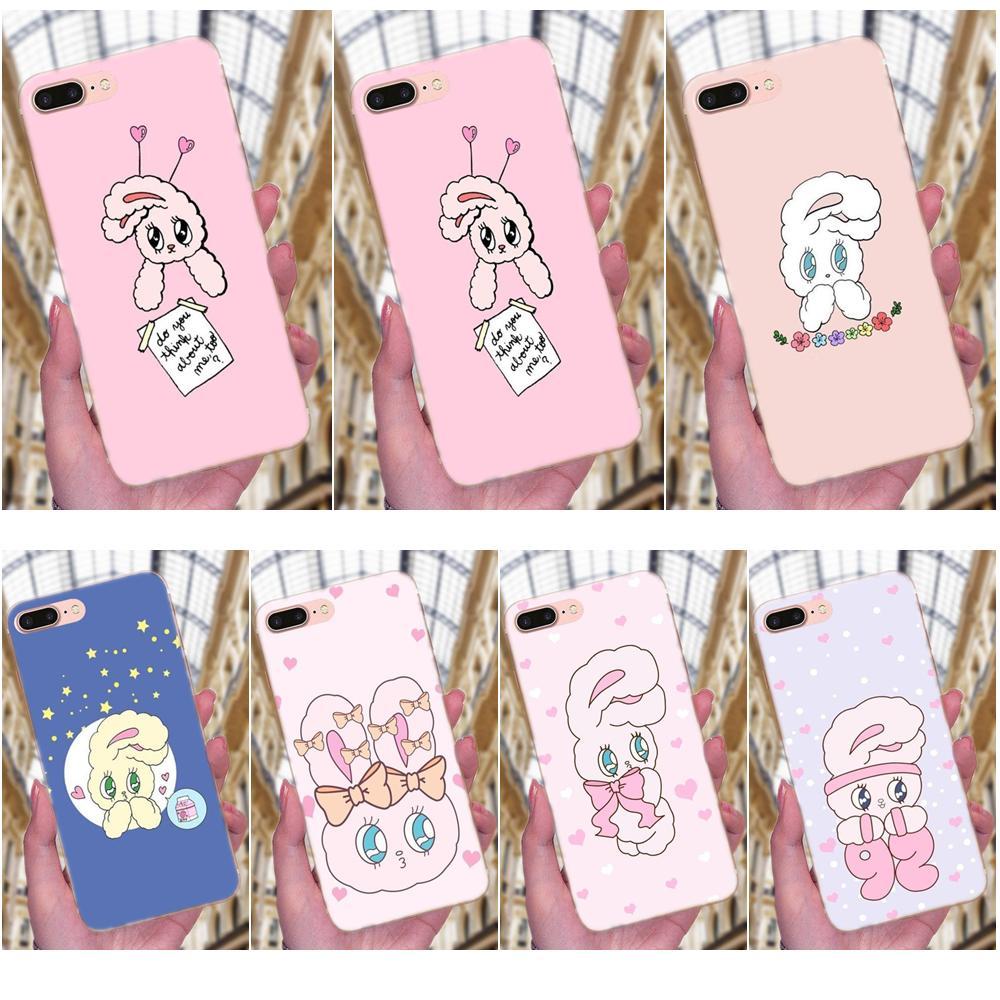 Unique Luxury Caso de Telefone Macio Rosa Coreano Chuu Esther Kim 4 Coelho Para Xiaomi Redmi Nota 2 3 3 S 4A 4X5 5A 6 6A Pro Plus