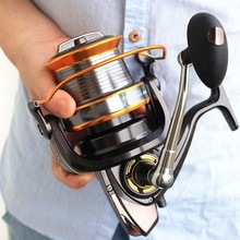 Grande jogo! 1000-9000 13bb molinete de pesca do mar bobina de água salgada distância de arremesso roda materiel de peche en mer fr213