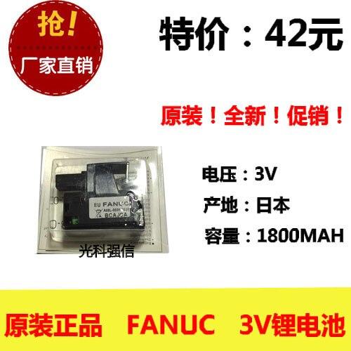 Original fancu BCAJCA 3V batería de litio PLC torno de control industrial A98L-0031-0026 celda de iones de litio recargable