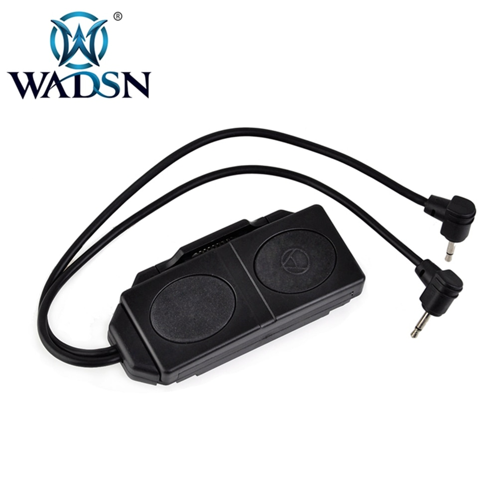 WADSN Softair PEQ-16A interruptor de Control remoto luz trasera para Airsoft pistola táctica linterna PEQ15 M3X arma luz WEX177