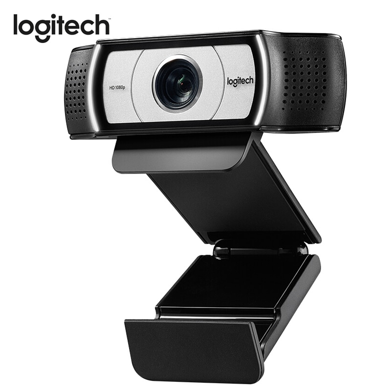 لوجيتك-كاميرا ويب C930c FULL HD ، عدسة Garle Zeiss 1920x1080 ، كاميرا ويب مع تقريب رقمي 4 مرات ، كاميرا USB للكمبيوتر الشخصي