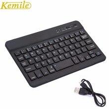 Kemile Ultra mince Portable sans fil Bluetooth clavier en Aluminium avec Port de chargement Micro pour Dell Venue 8 pro 8 pouces tablette