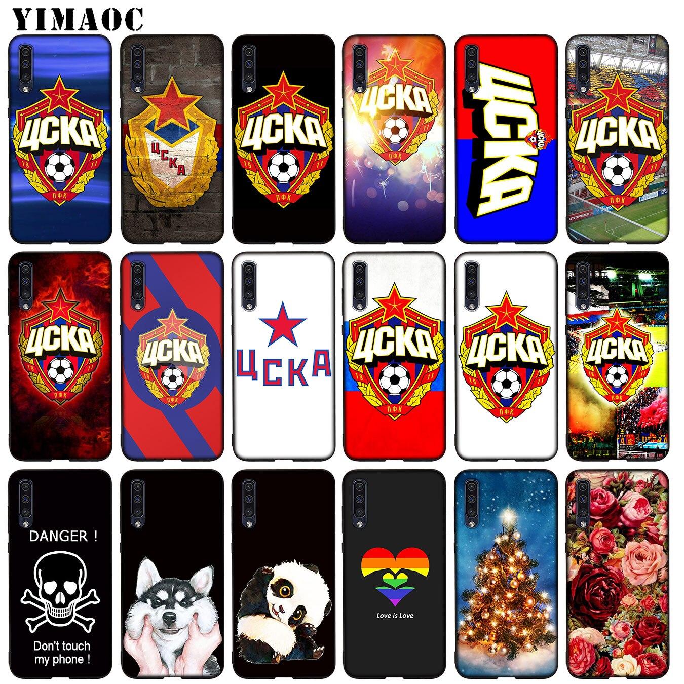 YIMAOC CSKA Moscou En Silicone TPU Souple étui pour samsung Galaxy A70 A60 A50 A40 A30 A20 A10 A50S A40S A30S A20S A10S Couverture