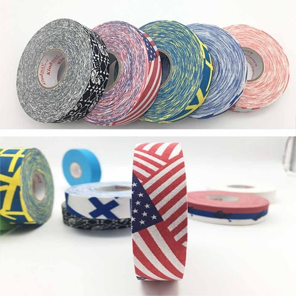 NEW Ice Hockey Bar Badminton Handle Bike Grip Handlebar Anti-slip Cloth Sticky Tape
