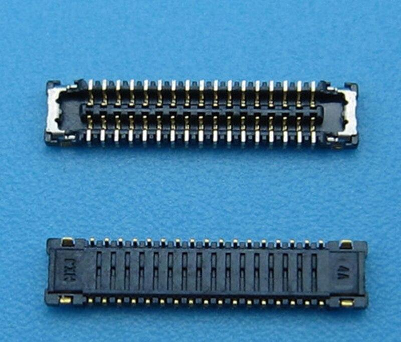2 conectores FPC originales para Xiaomi 4 mi 4 M4 mi 4 pantalla LCD conector 17pin en placa base lógica nuevo en Stock + seguimiento