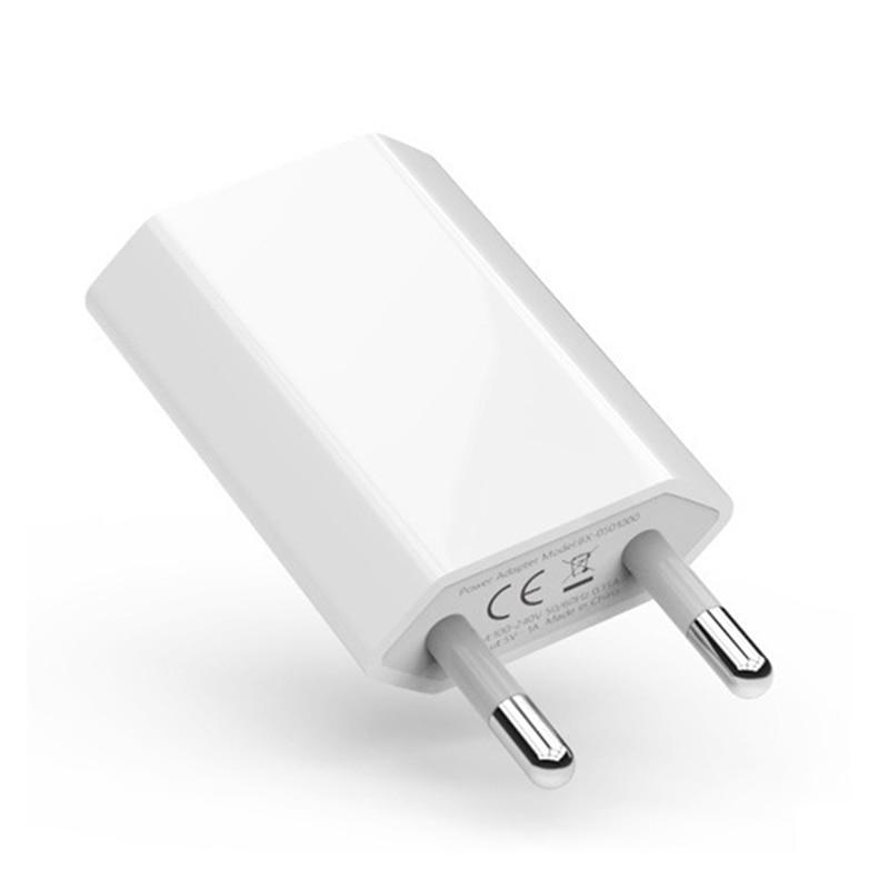 EU/Us-stecker Reise USB Ladegerät 5V/1A Lade für iPhone 4S 5 5S SE 6 6S 7 8 Plus X XS Max XR Handy AC Power Adapter