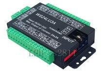 Décodeur facile dmx512 DMX 24CH 24 canaux, contrôleur de gradateur LED, DC5V-24V, chaque canal Max 3A, contrôleur rvb 8 groupes, caisse en fer