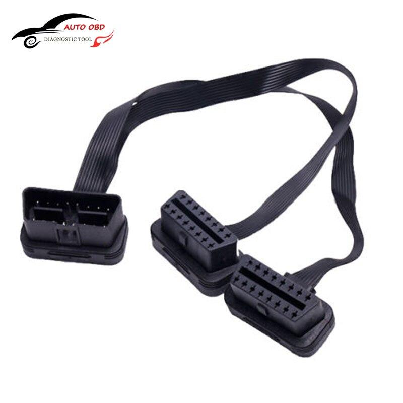 ¡Gran oferta! Cable conector de extensión de codo plano + delgado como...