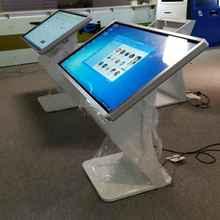 Table de guidage de cartes à sol autonome   Bricolage, center commercial, écran publicitaire lcd tactile, kiosque numérique avec CPU i3/i5 RAM 4 go PC intégré