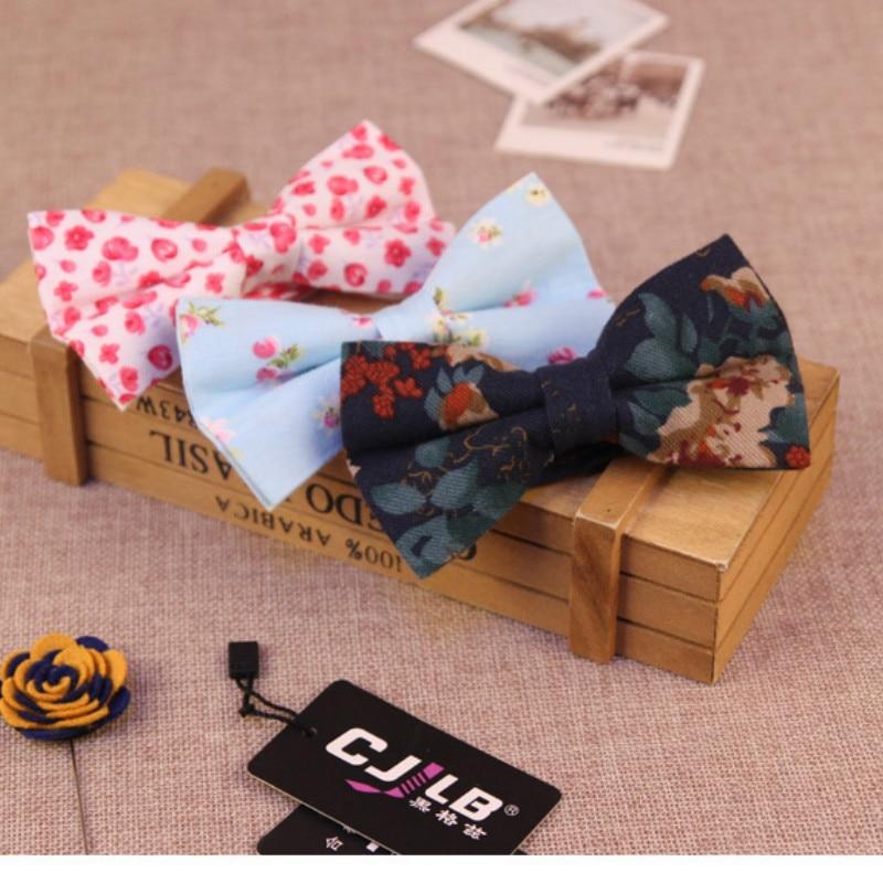 16 ألوان الموضة المصممين رجل إمرأة القوس التعادل القطن طباعة الزهور ل حفل زفاف بووتي فراشة 300 قطعة/الوحدة فيديكس