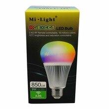 10 pièces Mi. lumière E27 9 W RGB CCT LED ampoule FUT012 Smart WiFi 2.4G sans fil RGB + température de couleur Dimmable 2 en 1 AC85-265V en gros