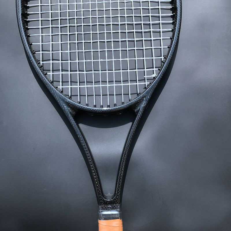 1 pc Taiwan Custom PS97 100% carbon woven black Tennis racket 97sq.in 315g tennis racquet foamed handle with bag L2,L3,L4