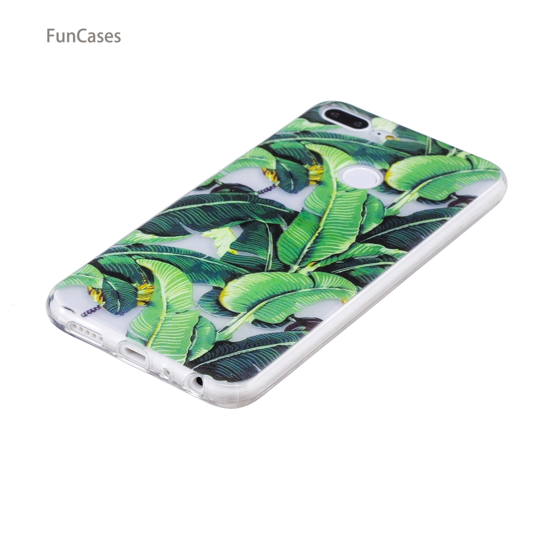 ¡50 patrones! Funda de gato para Capa Huawei Honor 9 Lite funda de teléfono de silicona suave Caso Floral contraportada Huawei Ascend Honor 9 Lite