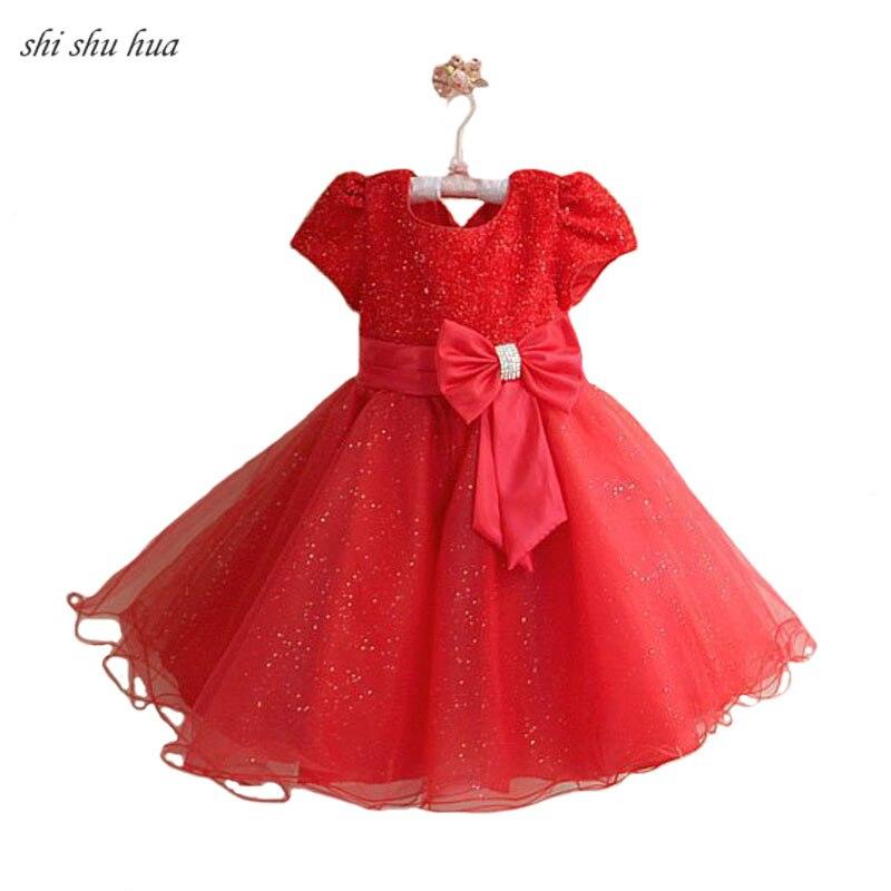 Girl Clothes Dress Bow Decoration Vestido Infantil New Vestidos Children's Wear 2-8 Y Child Quality Clothing 2019 Hot Sale