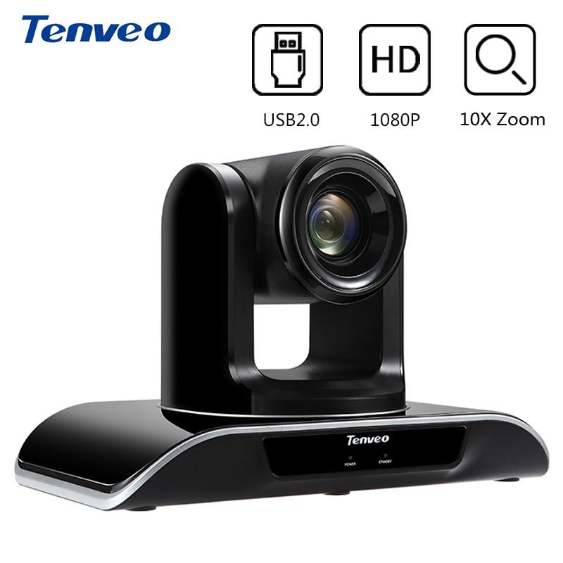Tenveo VHD202U HD 1080p 2MP 20x Zoom USB PTZ vídeo conferencia Pan Tilt Zoom macho y cámara H.264 teleconferencia