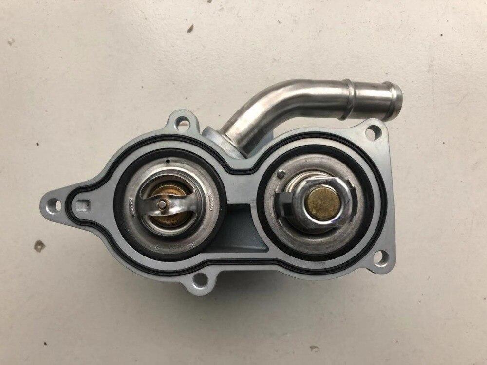 (2 pçs/set) termostato 80 e MG3 MG5 SAIC ROEWE 350 1.5L 88 Para Chinês motor Auto peças do motor do carro 10013853/THM200001