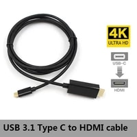 usb 3 1 type c to hd adapter cable male to male 4k2k hdtv av tv cable adapter for samsg galaxy s8 s8 plus mac