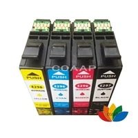 4 compatible t2971 black t2962 cyan t2963 magenta t2964 yellow ink cartridges for epson xp231 xp431 xp241 inkjet printer