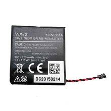 7XINbox 3.8V 300mAh Original WX30 SNN5951A Smart Watch Battery For Moto360