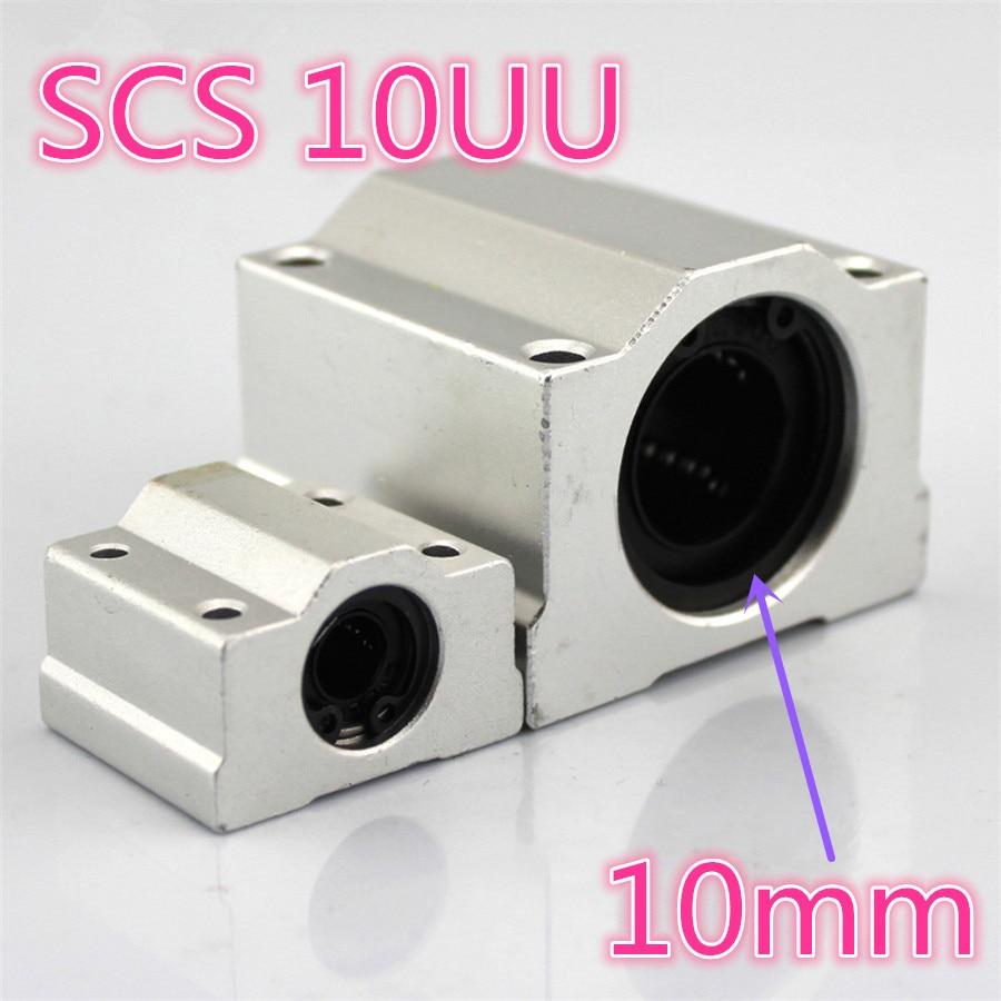 J504 SCS 10UU caja tipo LWEC aleación de aluminio rodamiento Pedestal mecanismo telescópico 10mm apertura envío gratis españa