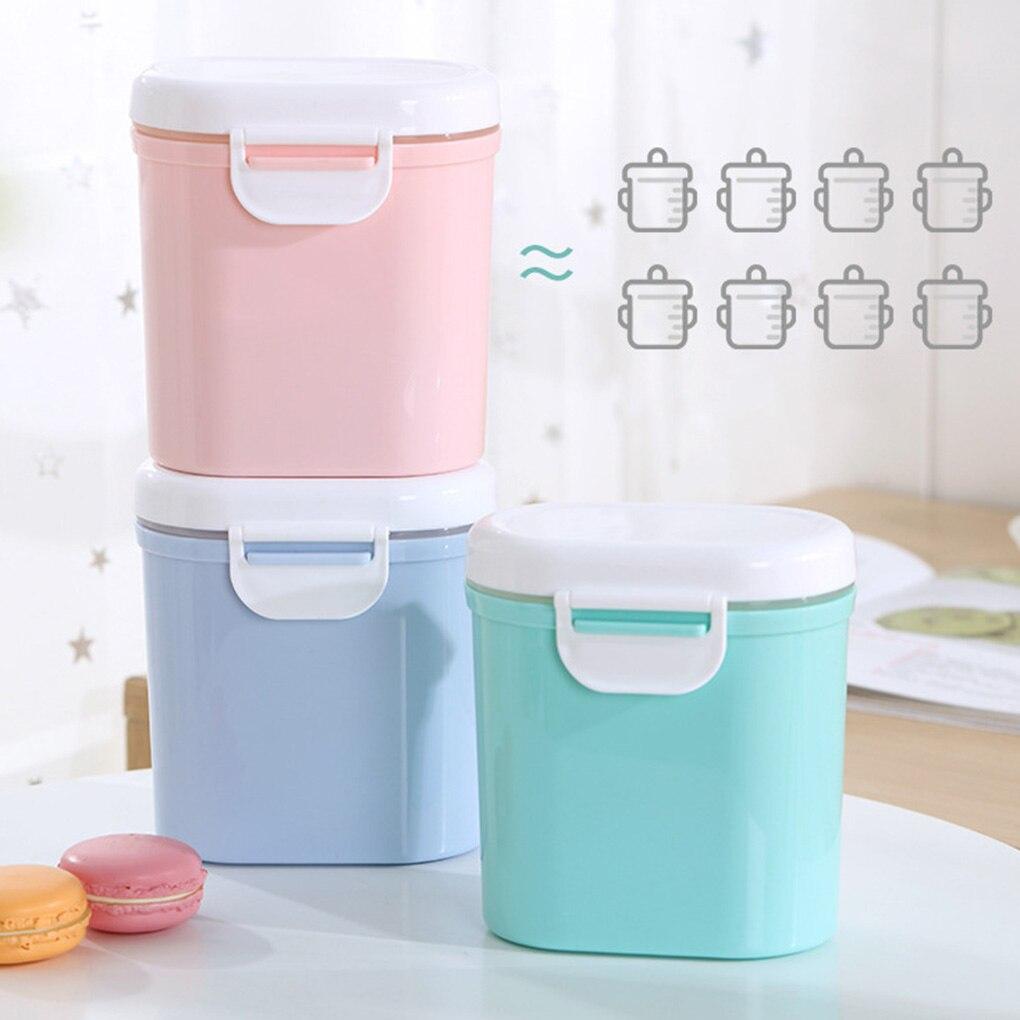 2020 nuevo leche en polvo para bebé fórmula infantil dispensador portátil apilable caja almacenamiento Snacks