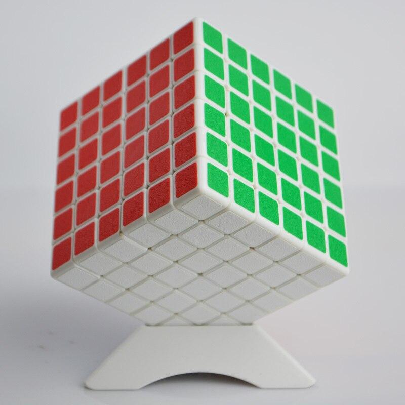Cubo de puzle ShengShou 6x6, pegatinas profesionales de PVC y Mate, rompecabezas de Cubo mágico, juguetes clásicos de velocidad, juguetes educativos y de aprendizaje