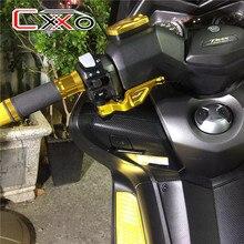 Yamaha levier de frein de stationnement en aluminium   Pour yamaha TMAX 500 2008 2011 530 2012 XP530 Red moto levier en aluminium une pièce