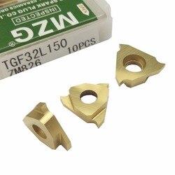 MZG Triângulo TGF32L050 TGF32L075 Rasa ZM826 Torno CNC Ferramentas De Corte de Aço Inoxidável Cortador de Grooving Pastilhas de Metal Duro Sólido