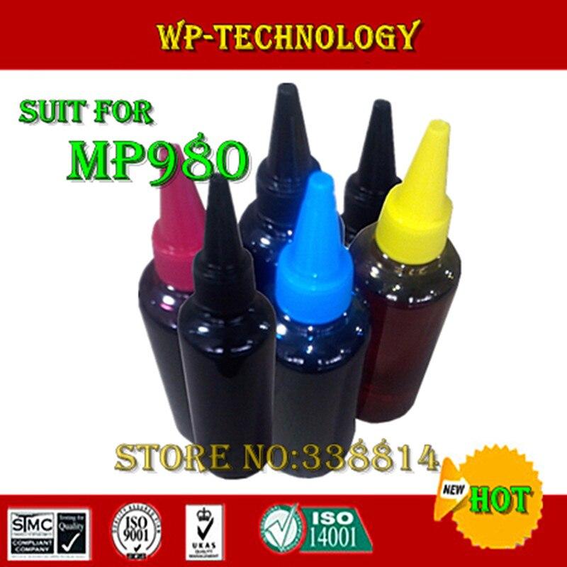 Tinta colorante, tinta Compatible especializada para Canon MP980, adecuada para Series PGI220 PGI520, tinta especializada de alta calidad, embotellada.