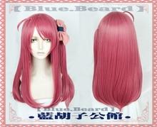 Zombieland Saga Sakura Minamoto Cosplay Hairwear Halloween Long Straight Hair wear
