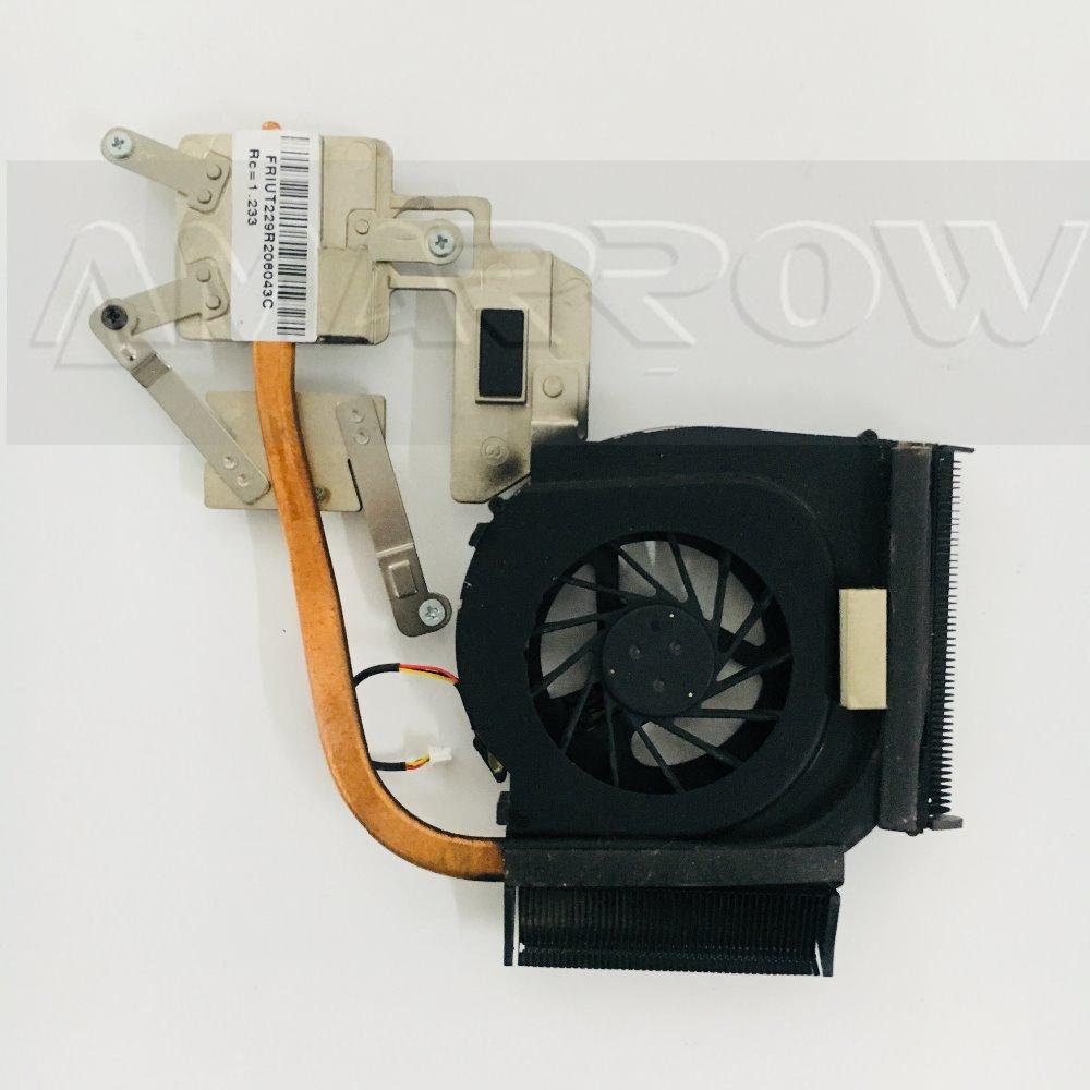 Disipador térmico Original para ordenador portátil con envío gratis, ventilador enfriador de cpu para HP DV6 DV7 DV6-1000 disipador de calor DV6-2000 CPU 553441-001 553442
