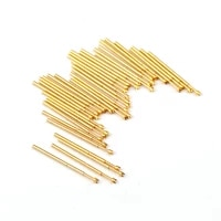100pcs electronic test spring test probe pa50 q2 length 16 5mm metal test needle test accessories nickel plated probe tool