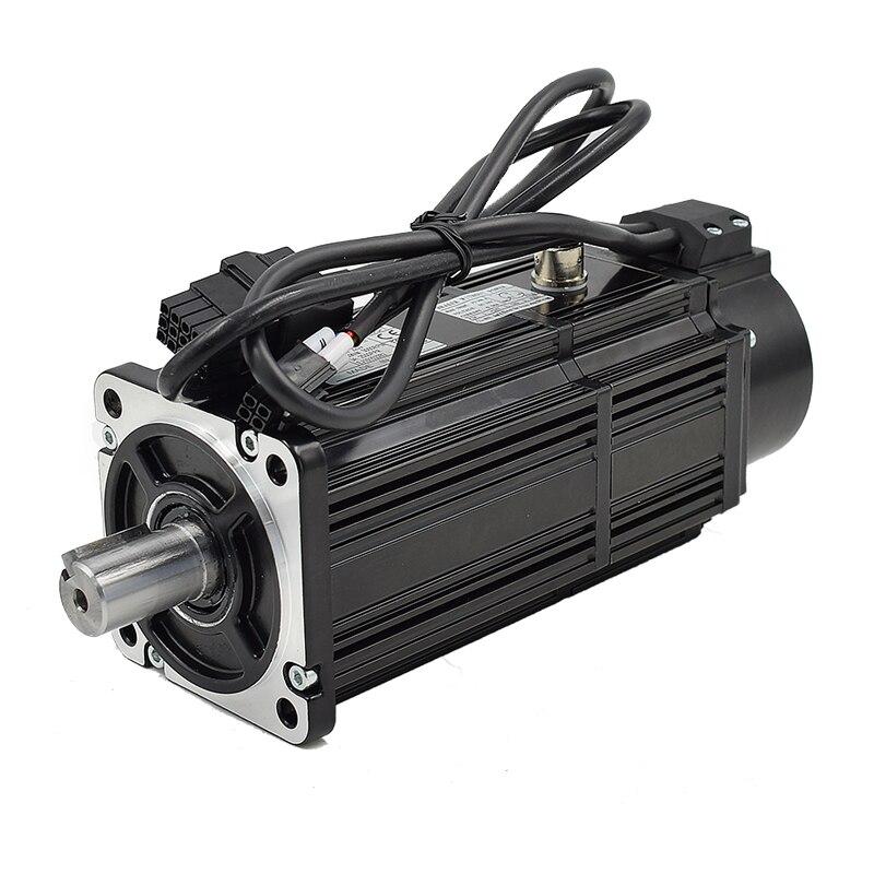 Servomotor monofásico profesional de 220V 750W AC para máquina de coser