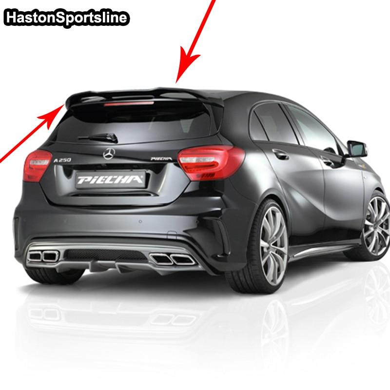 W176 A45 P سبويلر خلفي للسيارة بتصميم فرب برايمر للسيارة من مرسيدس-بنز الفئة أ W176 A180 A200 A260 A45 AMG 2013-2017