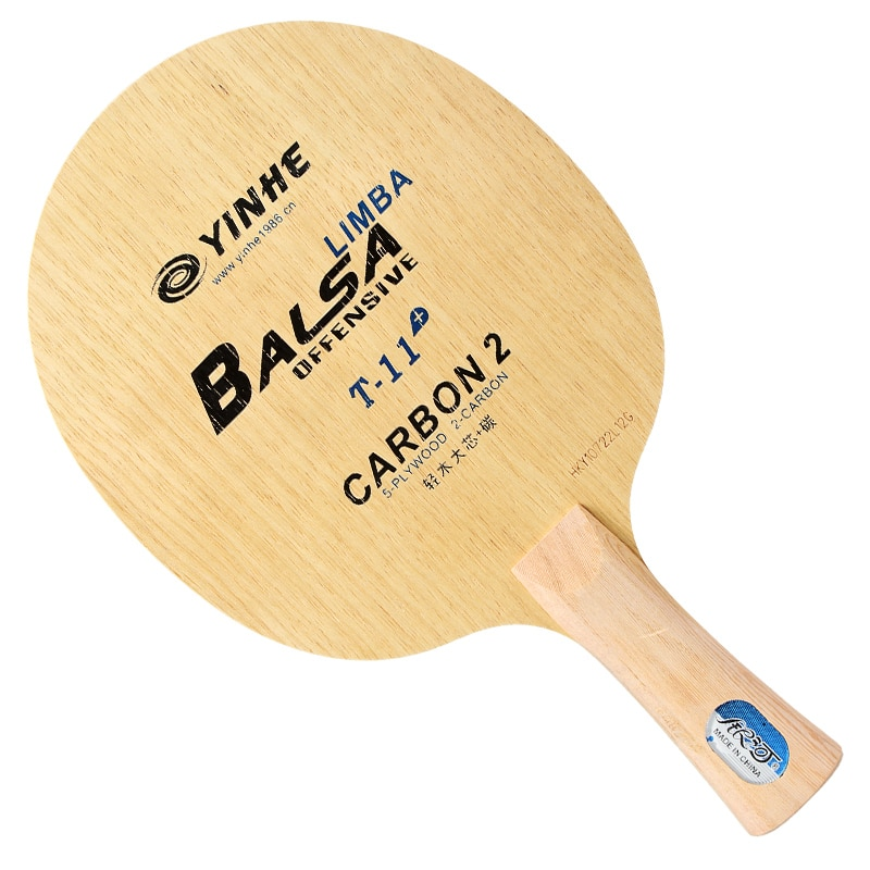 Galaxy yinhe T-11 (super leve, carbono) ténis de mesa lâmina (5 + 2 carbono) t11 raquete ping pong bat