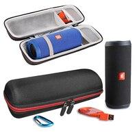 2018 New PU+EVA Case for JBL Flip 3 Flip 4 Speaker Portable Hard Travel Carry Storage Bag Case Pouch for jbl flip3 flip4 Column
