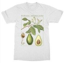 2019 Newest Men'S Funny  Avocado T-Shirt Botanical Garden Plant Print Art Botany Bloom Fruit Flower Grow