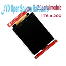 2.0 inch serial TFT SPI LCD screen color module only 4 IO  176*220