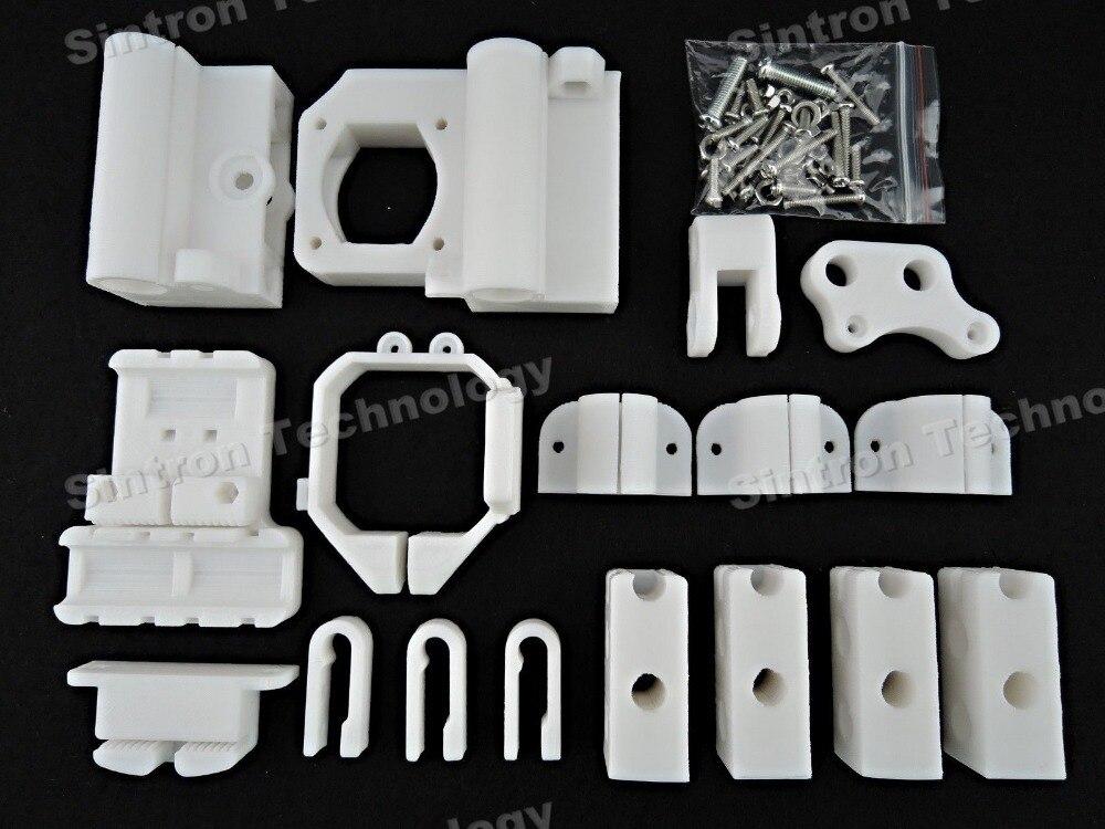 Sintron, Kit de marco de Pieza Impresa de plástico PLA para impresora 3D para MK8 Extuder Reprap Prusa Mendal Prusa i3, Envío Gratis