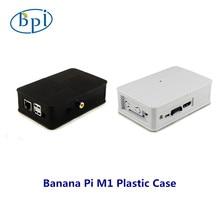 Meilleure qualité banane Pi plastique blanc/noir boîte pour banane Pi M1 Board seulement