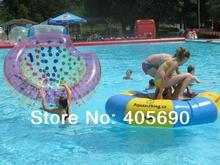 Cocon gonflable de plage de boule flottante de demi-boule de coco