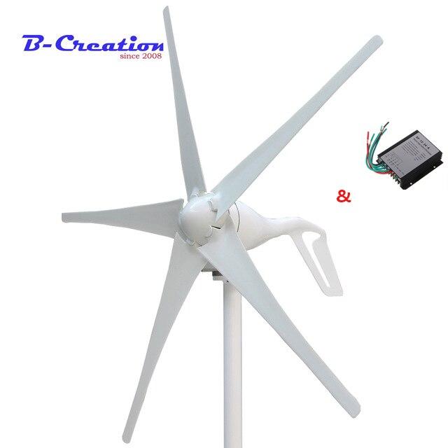 Factory price,400w mini wind turbine generator 3/5 blades small wind mill low start up wind generator + 400w wind controller