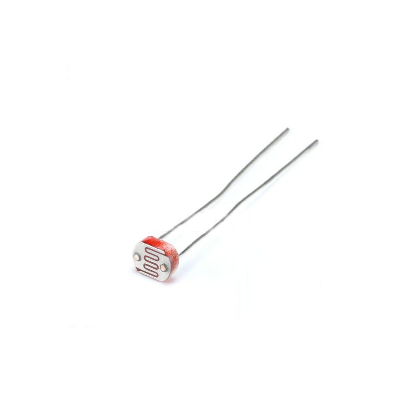 60 шт./лот Фоторезистор 5549 фотоэлектрический импульсный элемент фотоэлектрический обнаруживающий элемент 5 мм