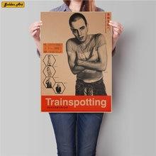 Trainspotting Film poster Vintage Kraft papier bild retro bar cafe wand aufkleber drucken malerei 45,5x31,5 cm