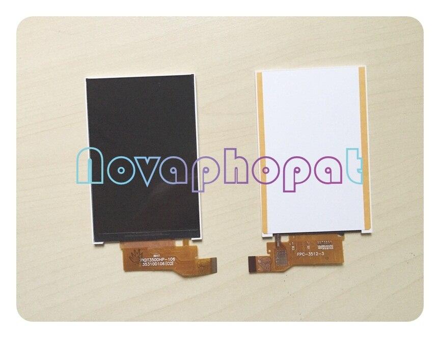 Novaphopat para alcatel um toque pixi ot4007 4007d 4007e 4007 display lcd tela do monitor de substituição + rastreamento