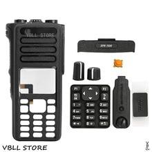 PMLN6116 Zwart Reparatie Kit Case Behuizing Cover Voor Motorola XPR7550 XPR7580 Walkie Talkie Draagbare Radio